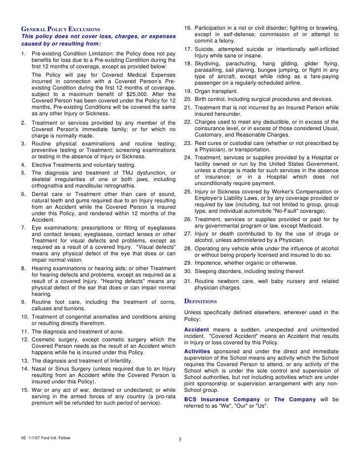 Self Defense Brochure Except in Self Defense