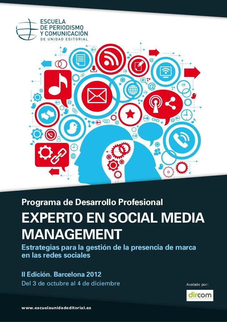 Curso Social Media Management