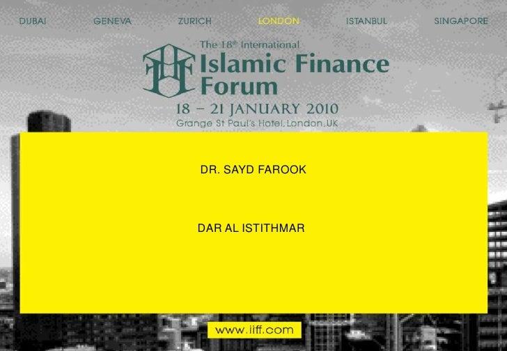 DR. SAYD FAROOK<br />DAR AL ISTITHMAR<br />