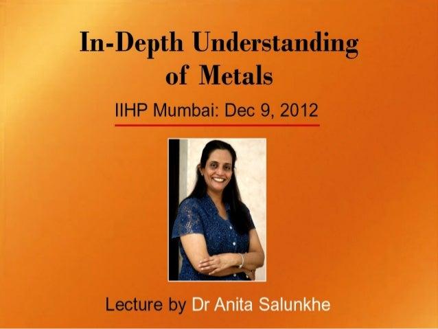 IIHP Lecture: Dec 9, 2012