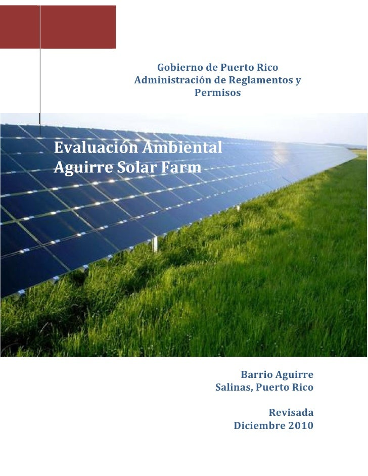 Iii.7. environmental impact assessment (spanish)