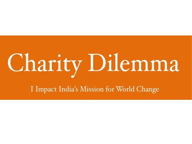 Problems With Charity and CSR.-Innovative Charity Solutions|Cause Related Marketing by I Impact India