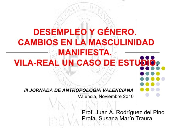 III jornadas antropologia valencia noviembre 2010