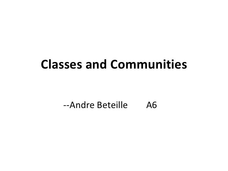 Iim calcutta   indian social structure - classes and communities