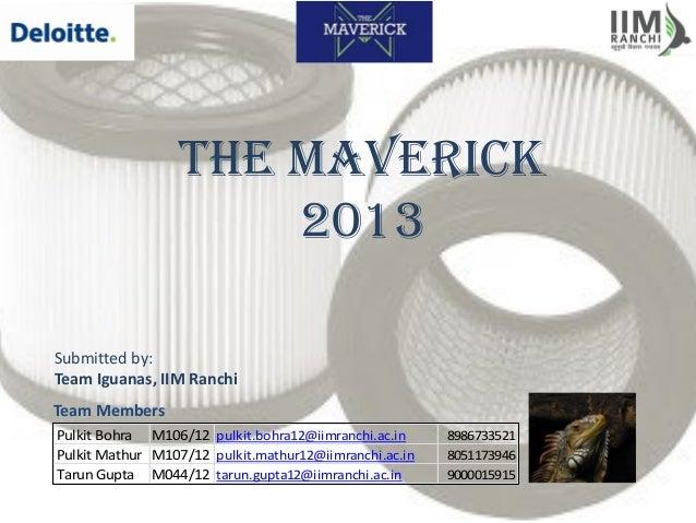 Deloitte Maverick Campus Champions