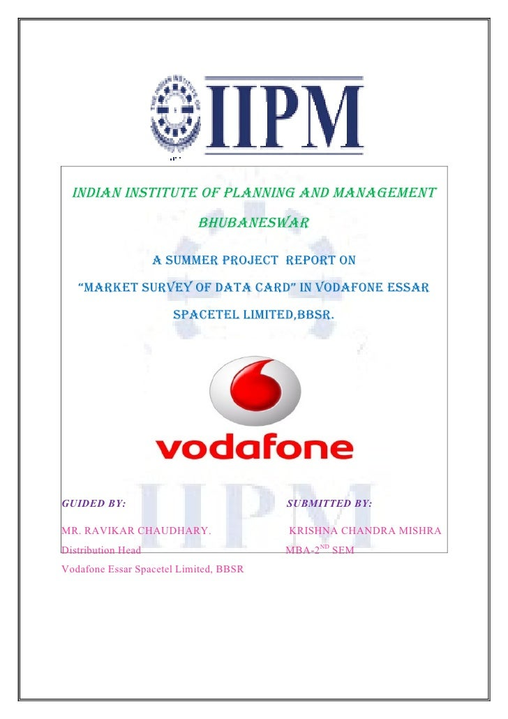 comparative customer satisfaction of airtel vodafone Chapter -2: literature review 21: study related to telecom sector  cards is the extent of 90% simplifies management of customer base  airtel is lead in gsm.
