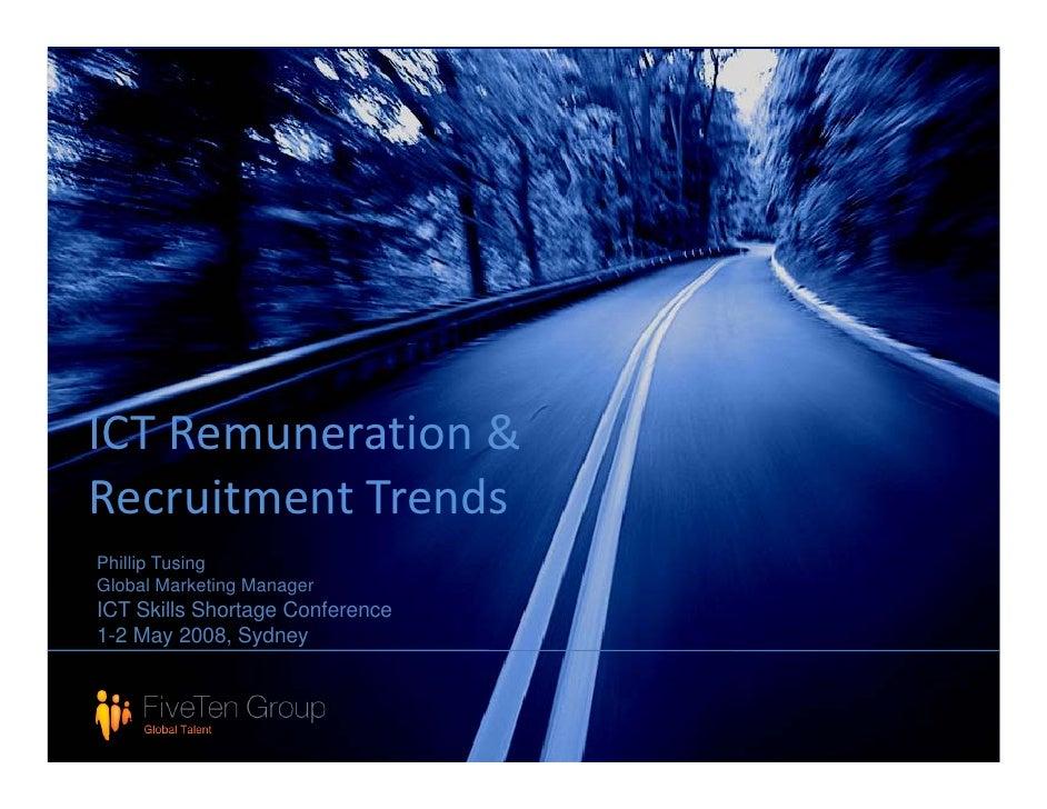 IT Remuneration Trends  2008 Short Version