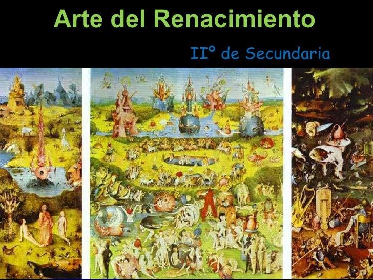 Arte del Renacimiento IIº de Secundaria
