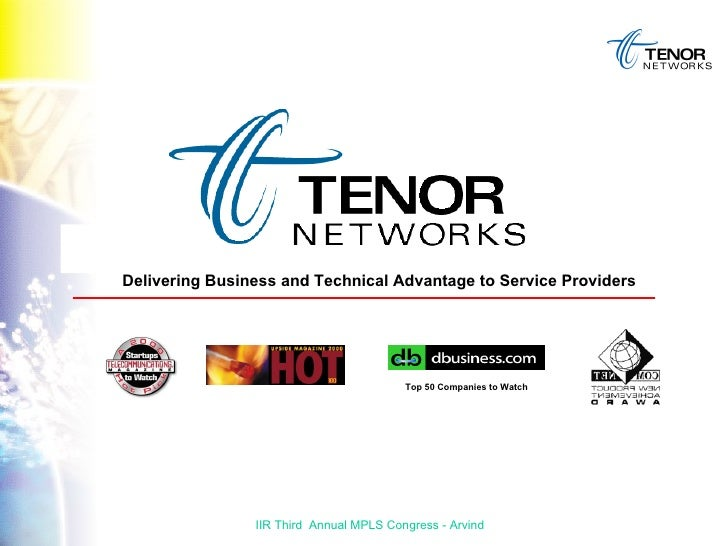 Delivering Business and Technical Advantage to Service Providers Top 50 Companies to Watch