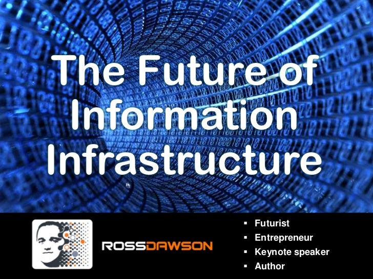 The Future of<br />Information<br />Infrastructure<br /><ul><li>Futurist