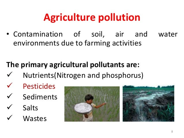 state the relationship between air water and soil pollution
