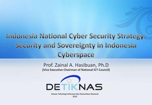 Indonesia National Cyber Security Strategy