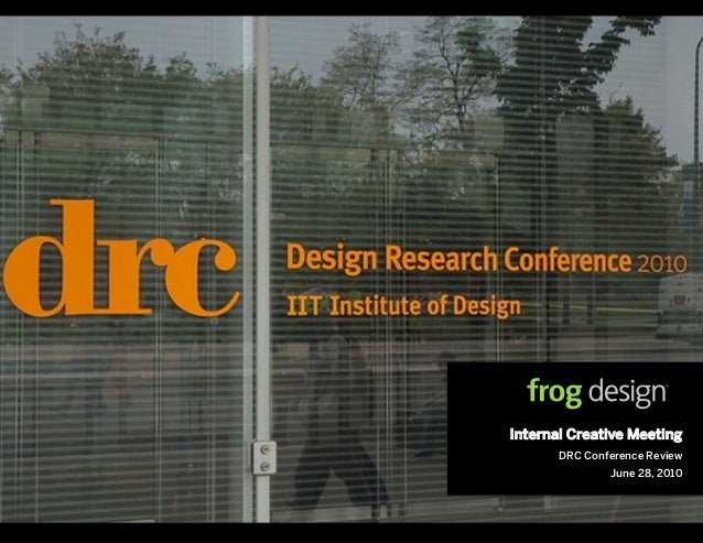 IIT Design Research Conference 2010 Review