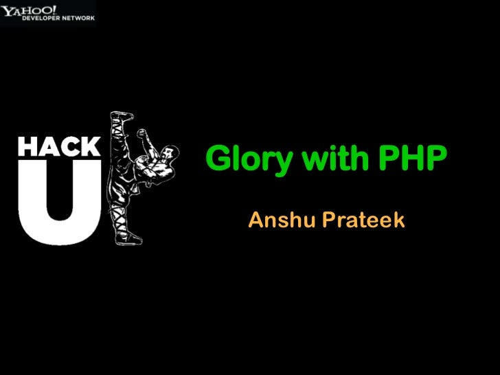 PHP Basics and Demo HackU