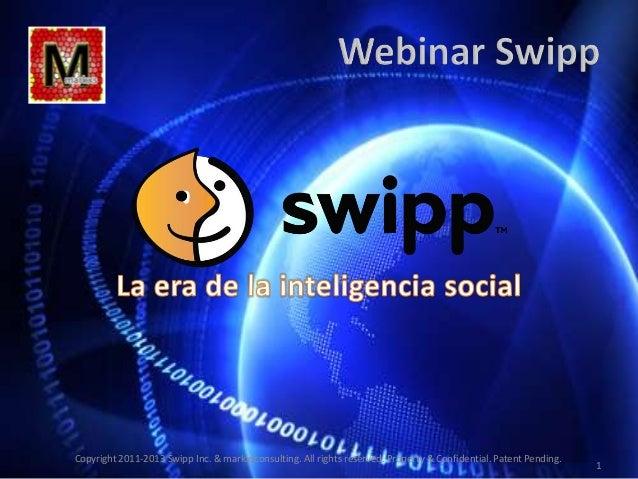 IIº Webinar Swipp: La era de la Inteligencia Social