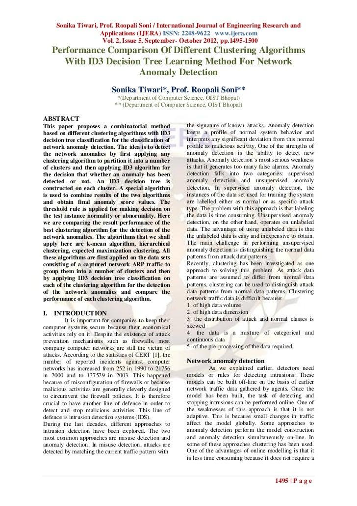 Sonika Tiwari, Prof. Roopali Soni / International Journal of Engineering Research and                    Applications (IJE...