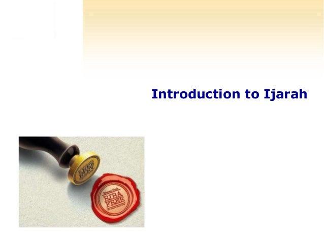 Introduction to Ijarah
