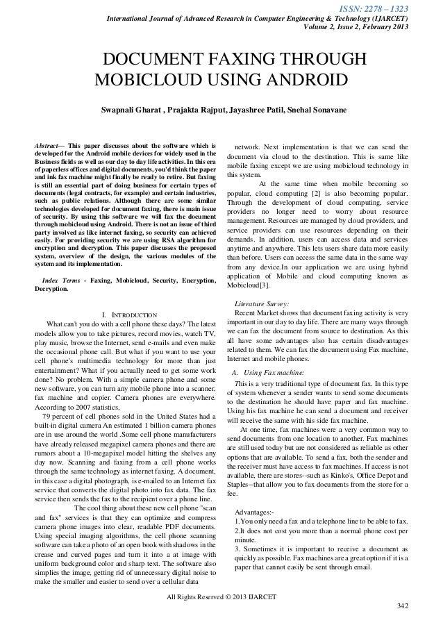 Ijarcet vol-2-issue-2-342-346