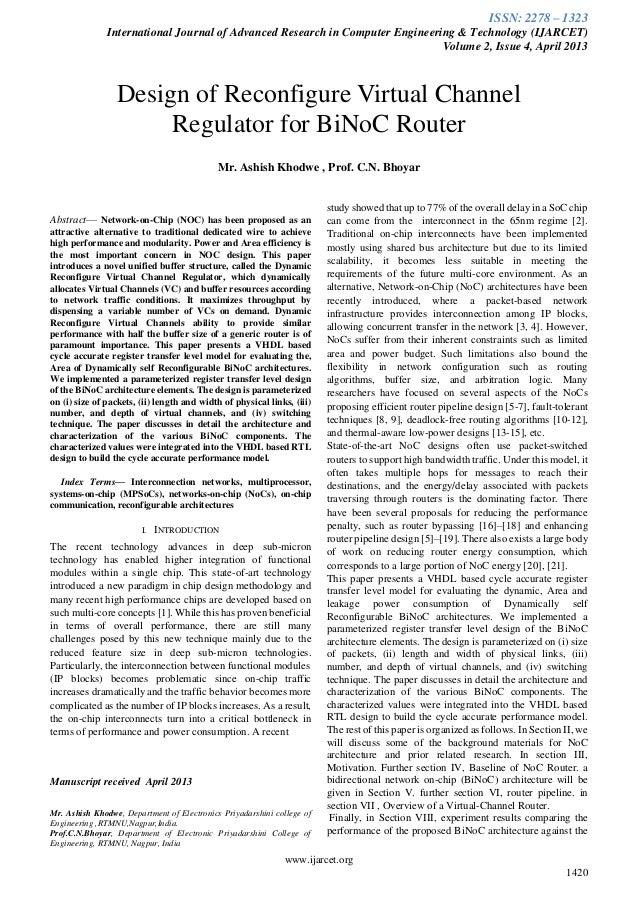 Ijarcet vol-2-issue-4-1420-1427