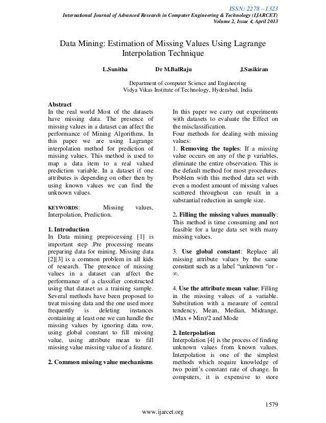 Ijarcet vol-2-issue-4-1579-1582