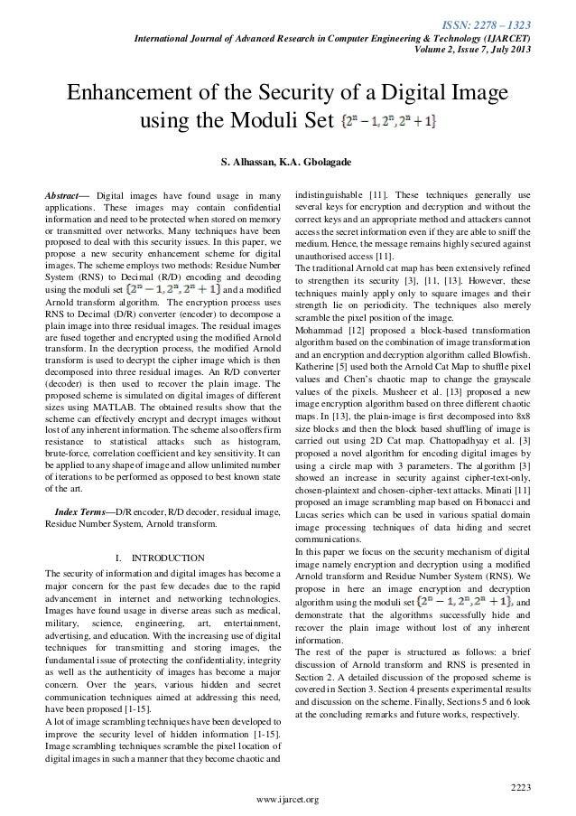 Ijarcet vol-2-issue-7-2223-2229