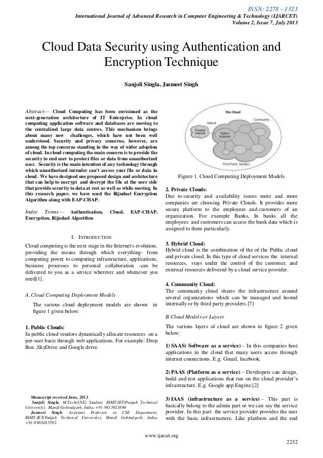 Ijarcet vol-2-issue-7-2232-2235