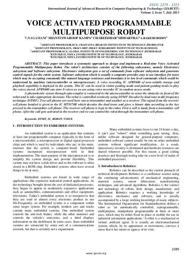Ijarcet vol-2-issue-7-2389-2397