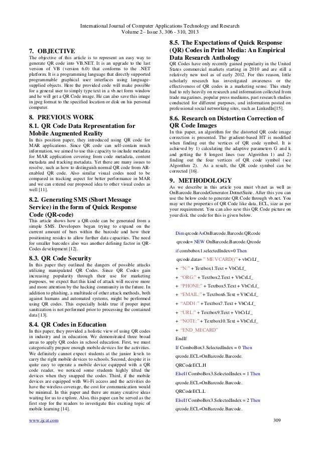 qr Code Algorithm qr Code Into Vb.net