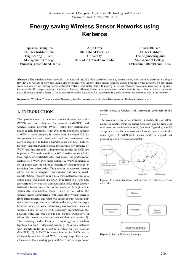 International Journal of Computer Applications Technology and Research Volume 3– Issue 5, 296 - 298, 2014 www.ijcat.com 29...