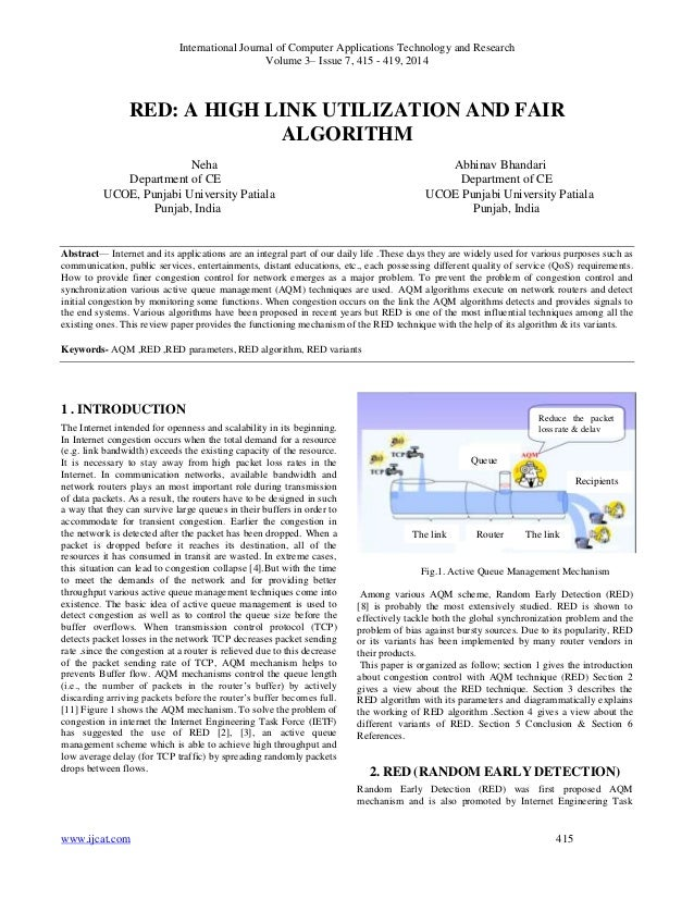International Journal of Computer Applications Technology and Research Volume 3– Issue 7, 415 - 419, 2014 www.ijcat.com 41...