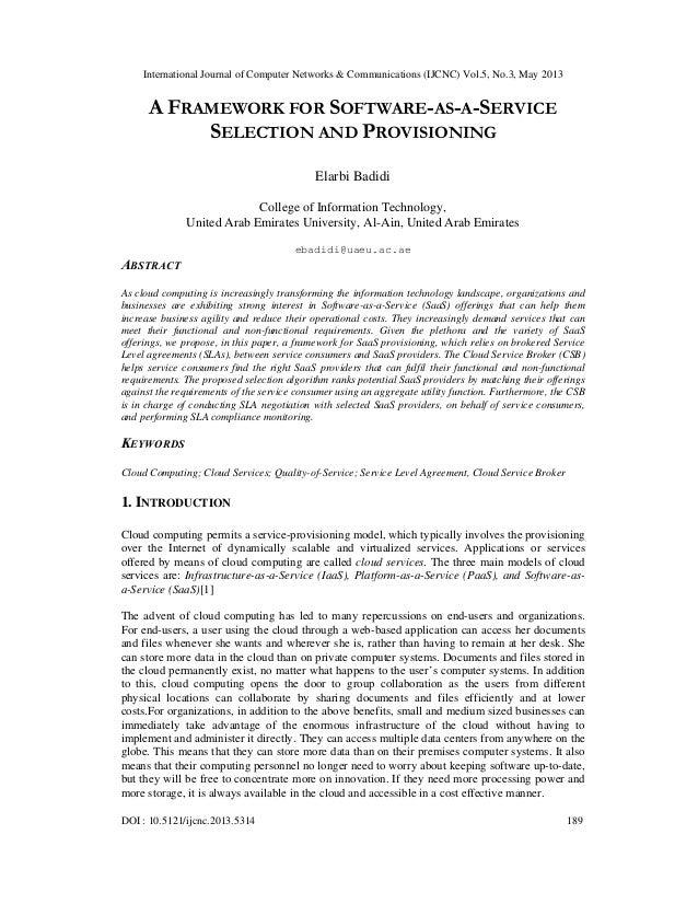 International Journal of Computer Networks & Communications (IJCNC) Vol.5, No.3, May 2013DOI : 10.5121/ijcnc.2013.5314 189...