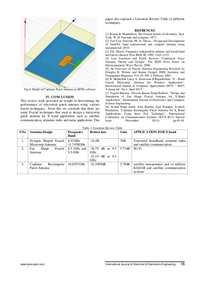 thesis report on microstrip patch antenna I wearable microstrip patch antenna  aisyah illani binti sulaiman  this report is submitted in partial fulfillment of requirement for the bachelor.