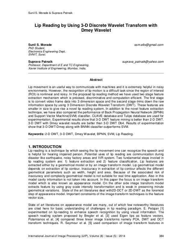 Wavelet phd thesis