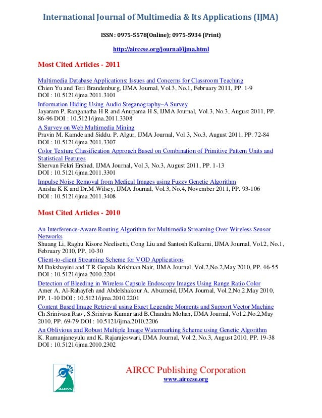 Ijma ( most cited articles)