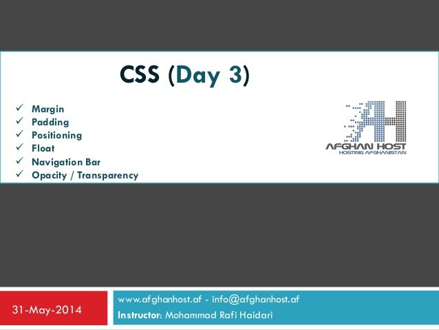 CSS_Day_Three (W3schools)