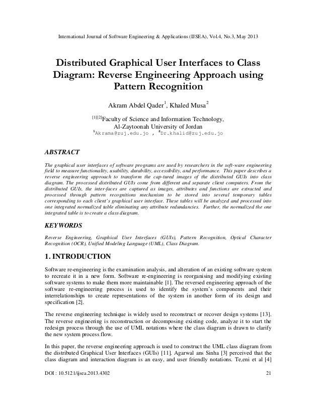 International Journal of Software Engineering & Applications (IJSEA), Vol.4, No.3, May 2013DOI : 10.5121/ijsea.2013.4302 2...