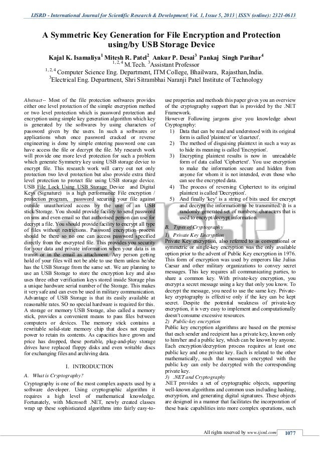 IJSRD - International Journal for Scientific Research & Development| Vol. 1, Issue 5, 2013 | ISSN (online): 2321-0613 All ...