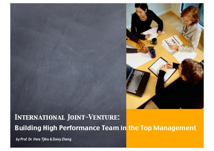 structuring an international joint venture in (international) joint ventures in order to remain competitive and strategically  flexible  the actual choice for a specific governance structure depends on  certain.