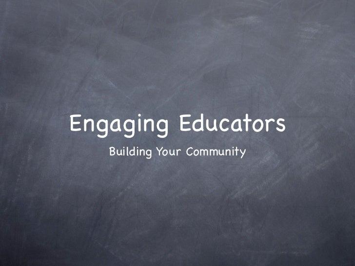 Engaging Edu Community- v2