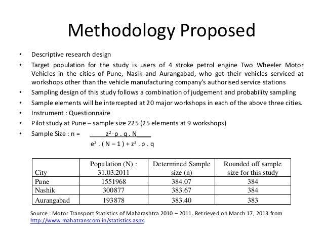 phd proposal methodology