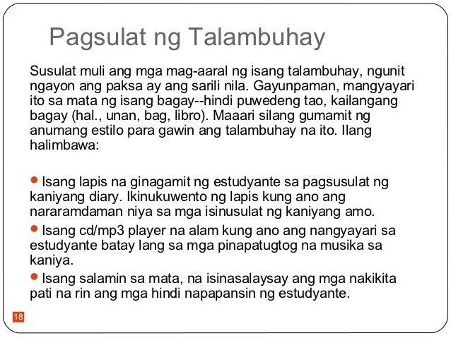 talambuhay ng isang ina Talambuhay o biograpiya ng mga  si manuel ang kanyang ama at si arcadia naman ang kanyang ina nag aral sa unibersidad ng  mula sa isang kampo ng .