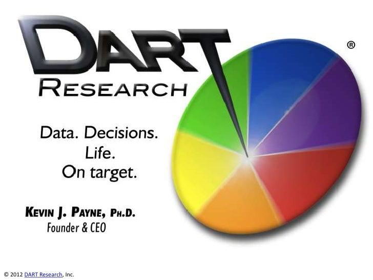iKC 2012 DART Research pitch