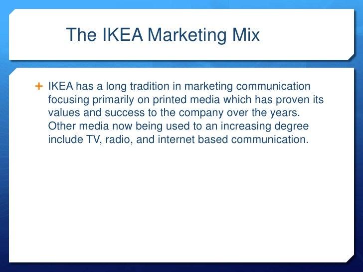 ikea marketing mix