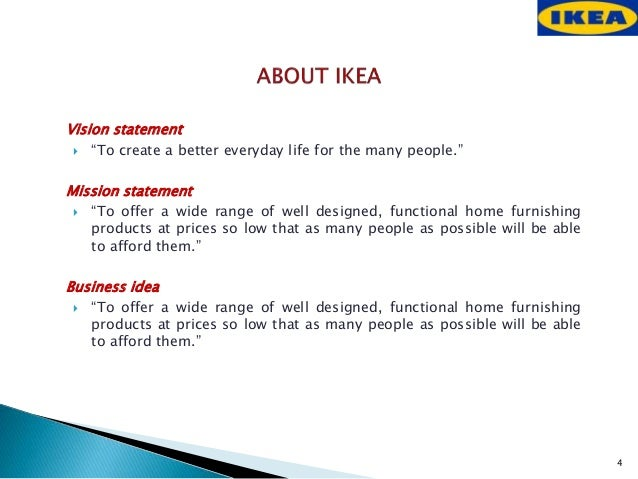 ikea advertising strategy Here is an analysis of the marketing mix of ikea that analyses the four p's in its marketing mix – product, place, price and promotion read more.