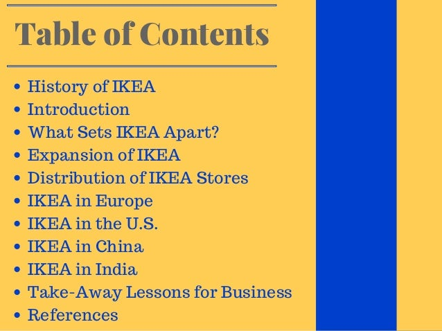 introduction of ikea Ikea highlights is about people, life at home, design and innovation from the future of augmented reality, to giving plastic pet bottles a new lease on life, this is.