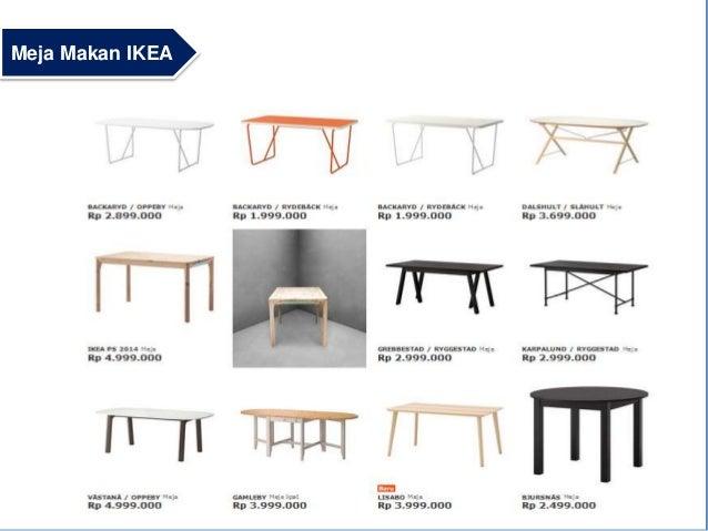 Ikea presentation for Meja kitchen set