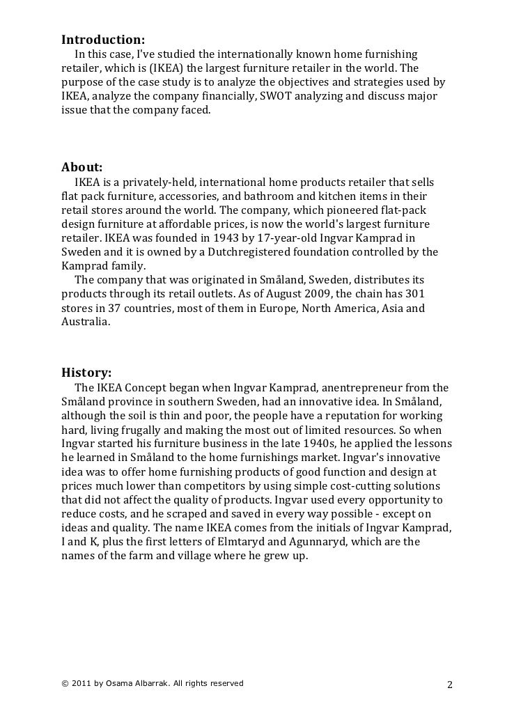 business case study essay Some business case studies are assigned as  the case study analysis is not an essay 5  documents similar to how to write a case analysis .