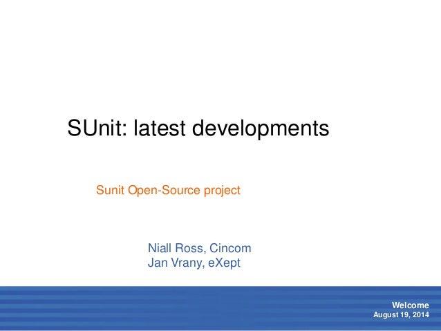 SUnit: latest developments