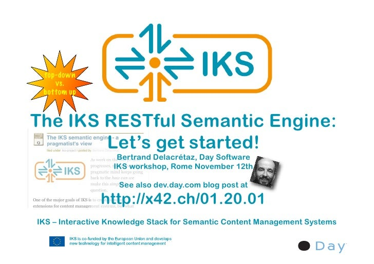 The IKS RESTful semantic engine - let's get started!