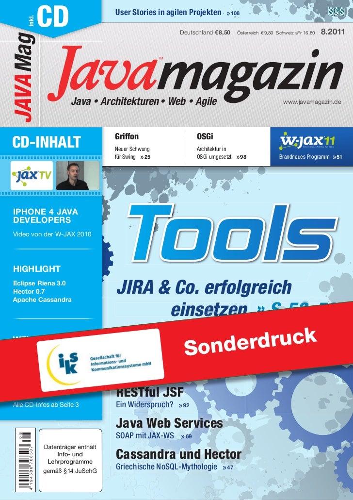 RCP-Vergleich, ein Artikel im Java Magazin 08/2011